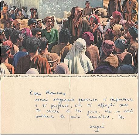 Gli auguri di Natale di Zavoli a Raschi