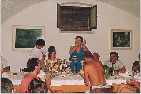 Ciclo Club Imbriani foto storica 1989