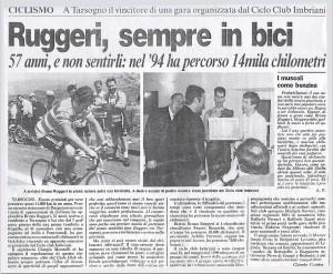 Bruno Ruggeri articolo Gazzetta di Parma