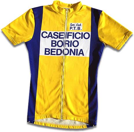 Maglia Società Ciclistica P.T.B. Porcari, Tambini, Bertani