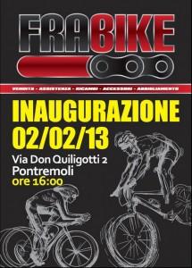 Inaugurazione negozio Frabike - Pontremoli @ Pontremoli | Pontremoli | Toscana | Italia