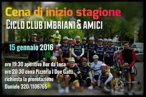 Cena inizio stagione Ciclo Club Imbriani @ Pizzeria I Due Gatti | Borgo Val di Taro | Emilia-Romagna | Italia