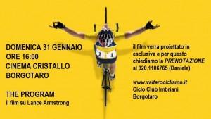 The Program - il film su Lance Armstrong @ Cinema Cristallo, Borgotaro | Borgo Val di Taro | Emilia-Romagna | Italia