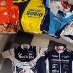 Le maglie storiche del ciclismo valtarese
